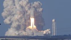 Premier vol historique de la plus puissante fusée du