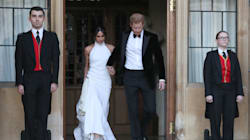 Meghan Markle's 2nd Royal Wedding Dress Has Us 'Ooohing' And