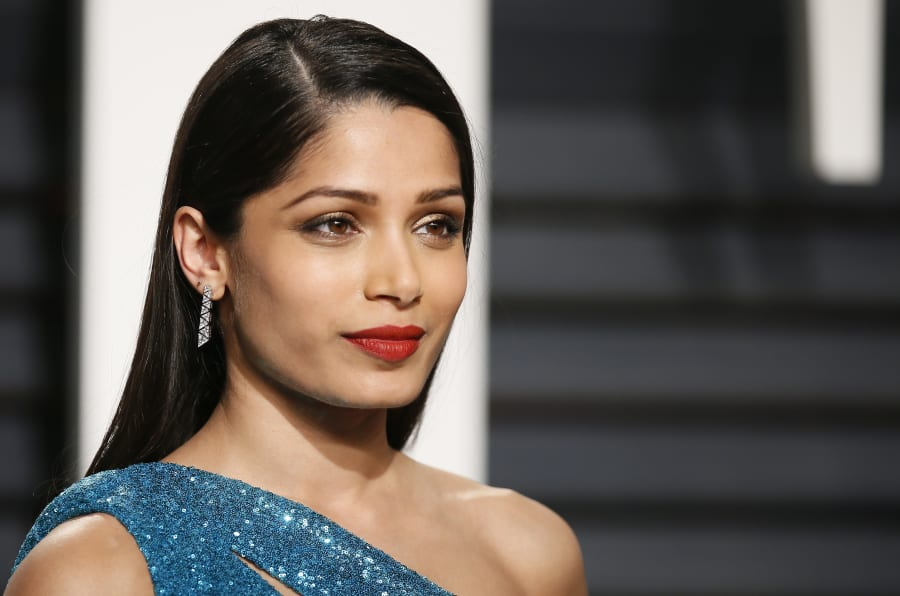A file photo of Freida Pinto.