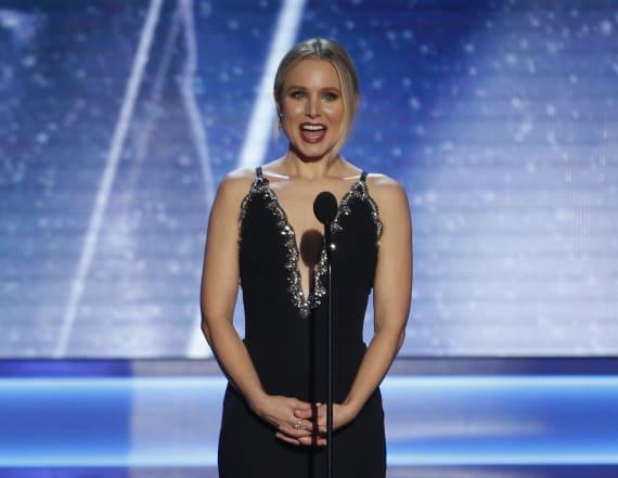 Kristen Bell mocked Melania in her SAG monologue