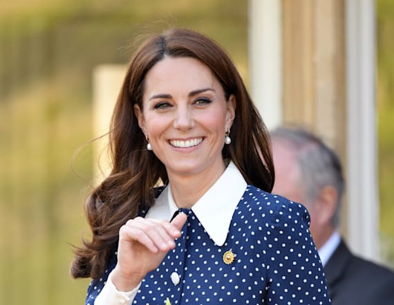 Kate Middleton steps out for D-Day commemoration