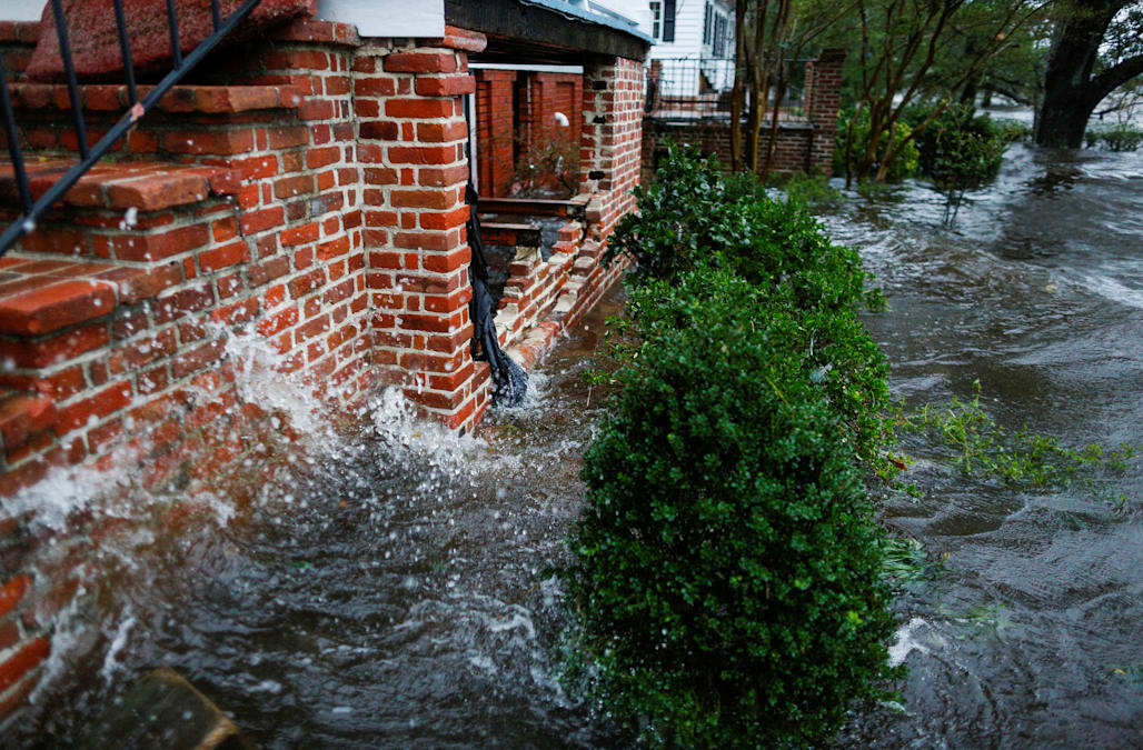 WILMINGTON, N.C. (AP) U2014 Catastrophic Flooding From Florence Spread Across  The Carolinas On Sunday, With Roads To Wilmington Cut Off By The Epic  Deluge And ...