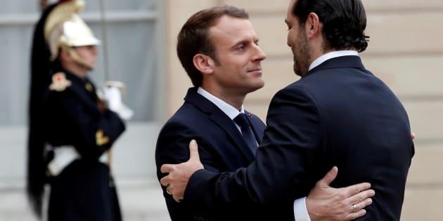 """Saad Hariri remercie la France pour son """"soutien"""" et va bientôt rentrer au Liban."""
