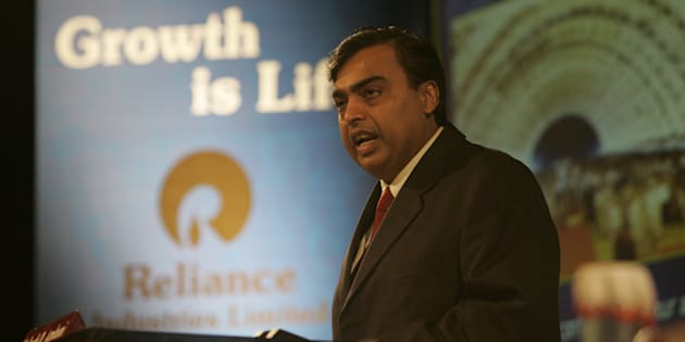 File photo of Mukesh Ambani, Chairman of Reliance Industries Ltd.