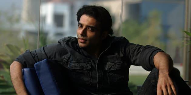 MUMBAI, INDIA - FEBRUARY 20, 2009: Actor Uday Chopra at Yash Raj Studio. (Photo by Satish Bate/Hindustan Times via Getty Images)