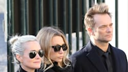 Quels people soutiennent Laeticia ou Laura Smet et David Hallyday