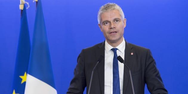 Laurent Wauquiez à Paris le 27 novembre 2016.
