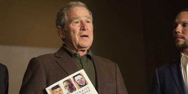 """""""Portrait of Courage"""" de George W. Bush est en tête des ventes aux États-Unis."""
