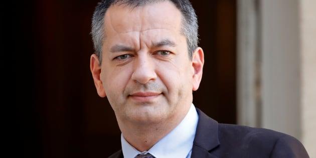 Pascal Pavageau, ici le 7 mai 2018 à Matignon,  démissionne de la tête de Force Ouvrière.