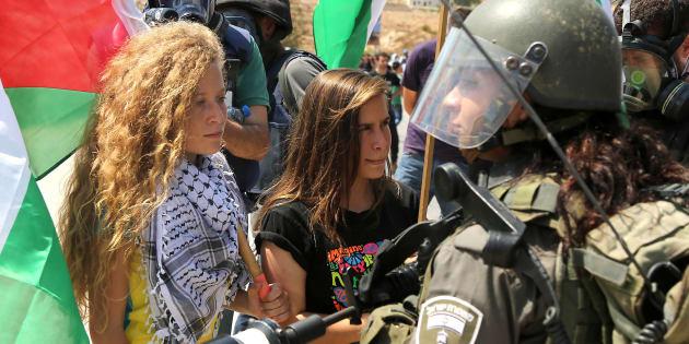 Una ragazza di Palestina
