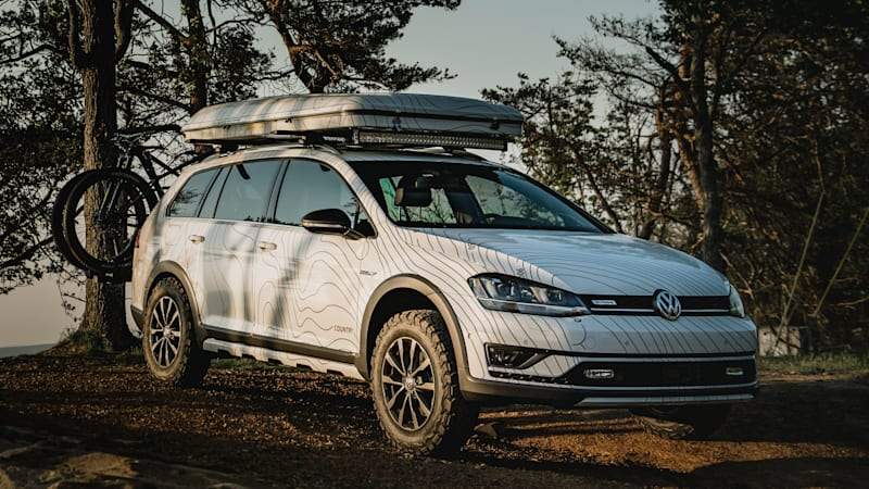 vw builds tribute to golf country and other customs for. Black Bedroom Furniture Sets. Home Design Ideas