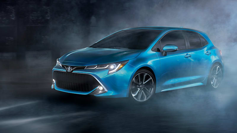 Corolla hot hatch? Sporty Toyota Corolla Hatchback coming to New York