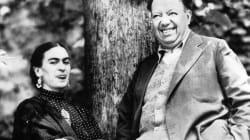 Frida Kahlo y Diego Rivera a la
