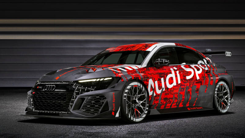 2021 Audi RS3 LMS race car revealed, hints at the road car to come