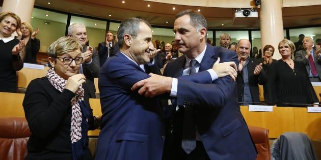 Trois jours avant la visite du président de la République, le couple Simeoni-Talamoni veut lui adresser un message.