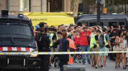 Attentat de Barcelone: les réactions de la classe
