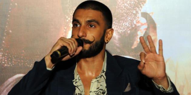 A file photo of Ranveer Singh.