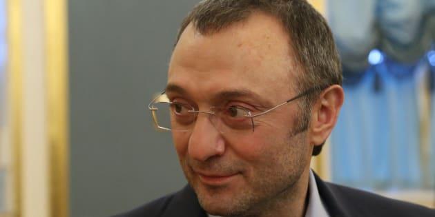 Le sénateur milliardaire russe Souleïman Kerimov.