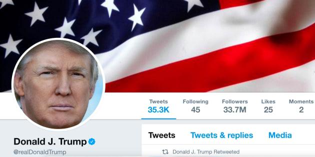 Les 4 manies de Trump sur Twitter qui en disent long sur sa manière de gouverner