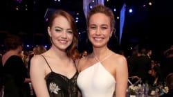 Brie Larson cuenta que su amistad con Emma Stone y Jennifer Lawrence le salvó la