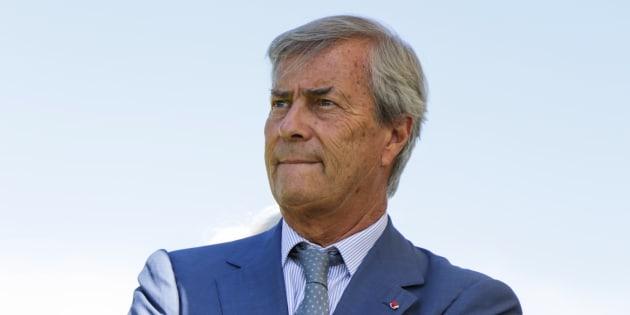 Vincent Bolloré à Paris le 25 juin 2017.