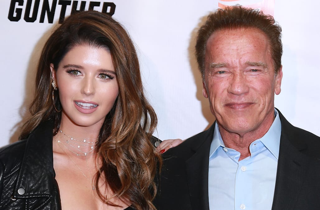 Arnold Schwarzenegger Speaks Out On Daughter Katherine S Engagement To Chris Pratt For The First Time Aol Entertainment