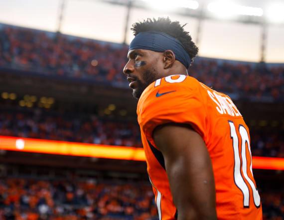 Broncos trade veteran receiver Emmanuel Sanders
