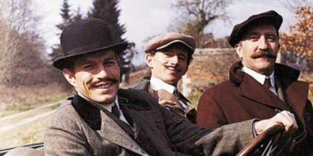Jean-Claude Bouillon à gauche avec Jean-Paul Tribout et Pierre Maguelon