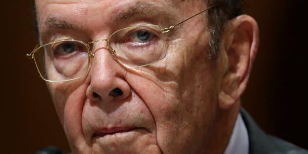 ElsecretariodeComerciode Estados Unidos, Wilbur Ross, en una comparecencia en Washington, el pasado 20 de julio.