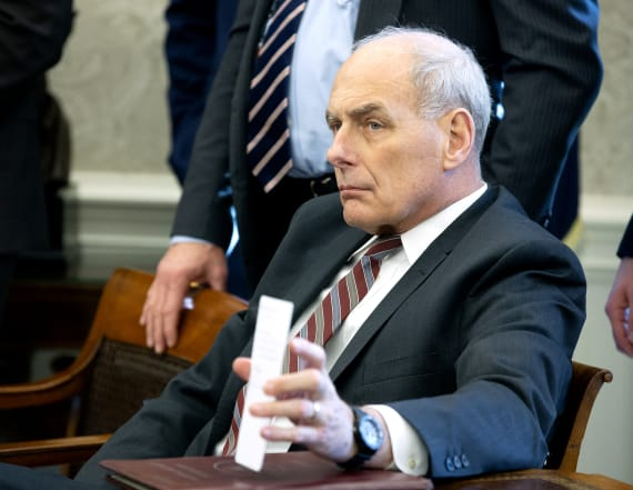 John Kelly reportedly had dim view of W.H. role