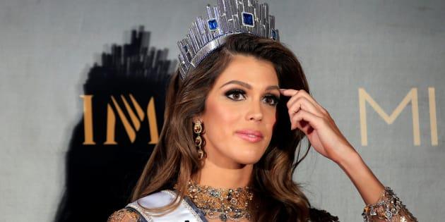 Miss Univers révèle pourquoi elle a quitté son petit-ami — Iris Mittenaere
