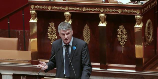 Philippe Folliot à l'Assemblée en novembre 2015.