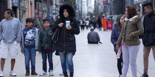 Protección Civil activó alertas por descenso de temperatura y caída de aguanieve en Ciudad de México.