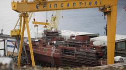 Hollande douche les espoirs d'une prise de contrôle française du chantier de Saint