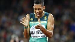 The BBC Downplayed Wayde Van Niekerk's Medals And South Africans Were Having None Of
