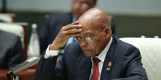 S. African court blasts Zuma, orders `state capture' inquiry to proceed