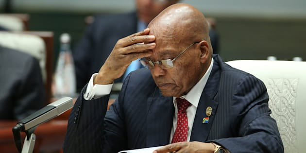 South Africa's Ruling Party Demands President Zuma Resign