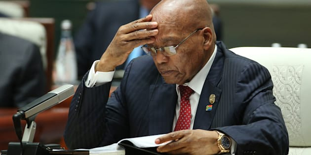 President Jacob Zuma. WU HONG/AFP/Getty Images