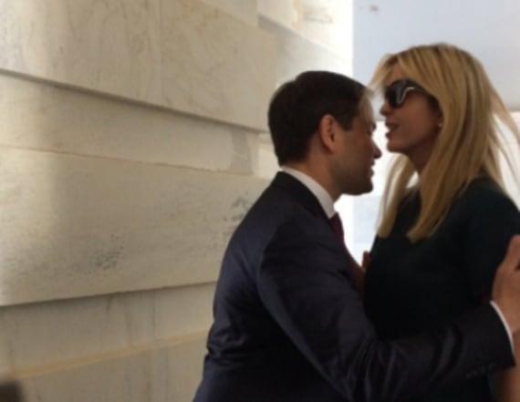 Rubio and Trump's failed hug sets Twitter ablaze