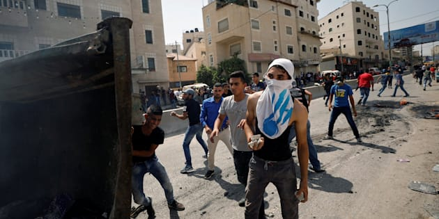 Palestiniens et 3 Israéliens tués lors de violences