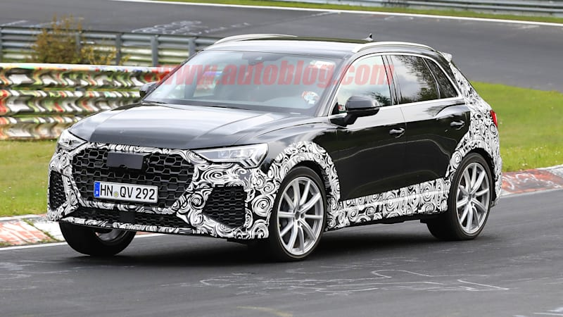 2020 Audi RS Q3 spy shots give us our first look at the hot crossover