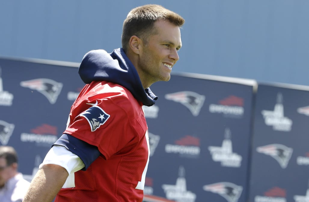 Tom Brady strikes fear into hearts of fans with minicamp