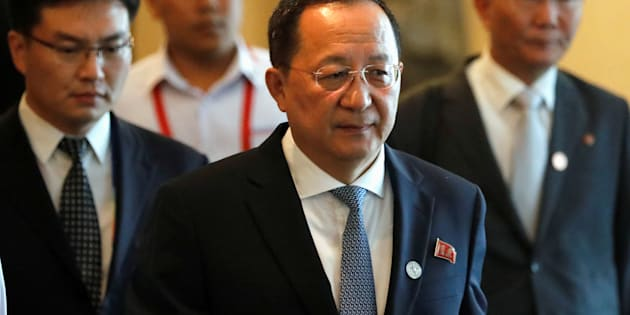 北朝鮮の李容浩(リ・ヨンホ)外相