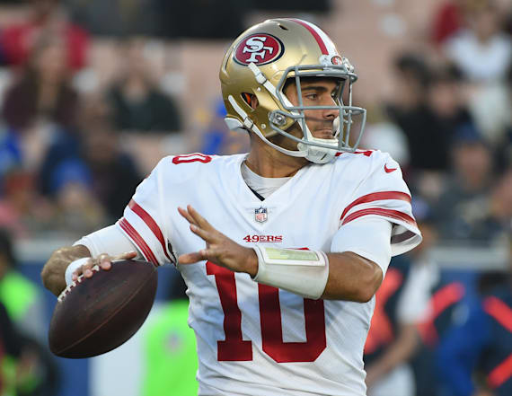 Jimmy Garoppolo spotted on date with adult film star