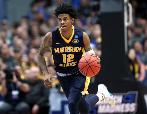 Ja Morant posts rare NCAA tournament triple-double