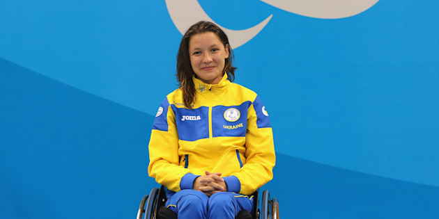 Swimmer Yelyzaveta Mereshko would definitely win a gold medal in the Smilympics.