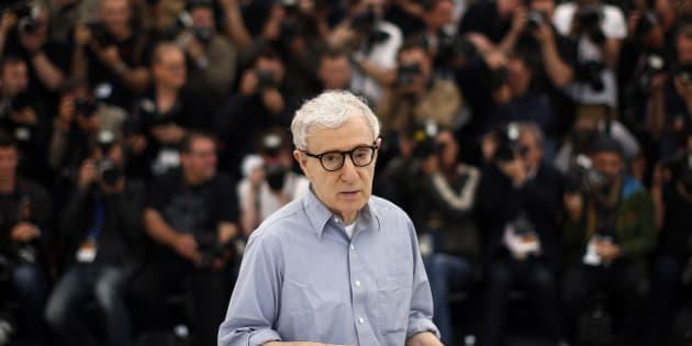 Woody Allen en Cannes el 11 de mayo de 2016.
