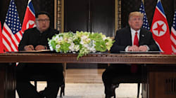 Trump And Kim Sign Joint Agreement As Historic Singapore Summit