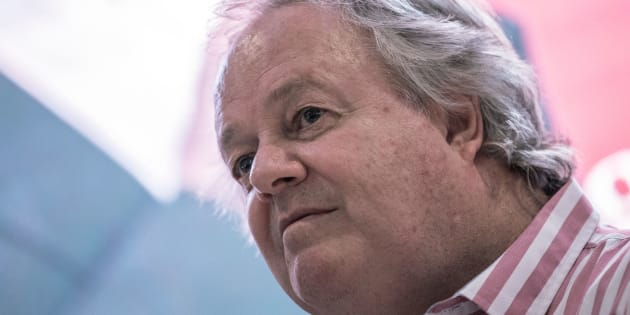 Investigative journalist Jacques Pauw.