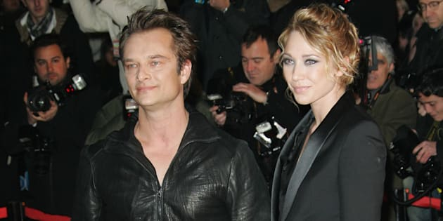 David Hallyday et Laura Smet aux NRJ Music Awards de Cannes en 2010.